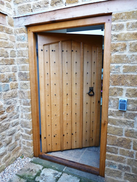 Cabinet making oxfordshire cabinet making conservation for Arts and crafts front doors
